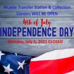 Fourth of July OPEN at Alcade - graphic