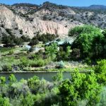 A panoramic view of Northern New Mexico